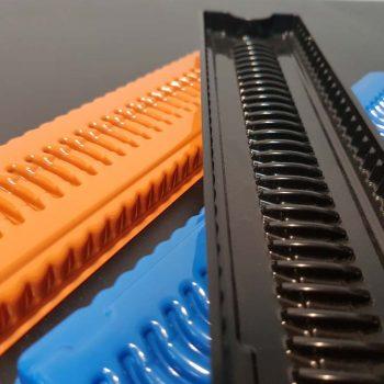 Multicoloured Plastic Trays